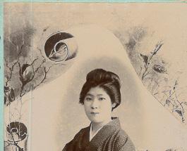 江戸末期・明治初期の名刺型写真の画像
