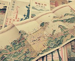 東急池上線・玉川電車・京王線・小田急線沿線鳥瞰図等の画像