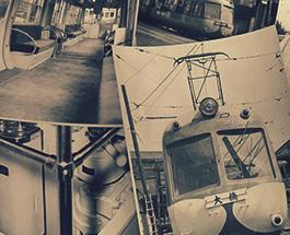通称「青ガエル」等、戦前国鉄鉄道写真の画像