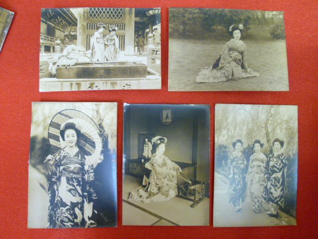 戦前生写真【京都の舞妓さん】買取致しましたの画像