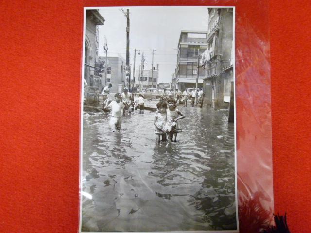 昭和30年代写真【亀戸の水害】買取は小川書店へ!の画像